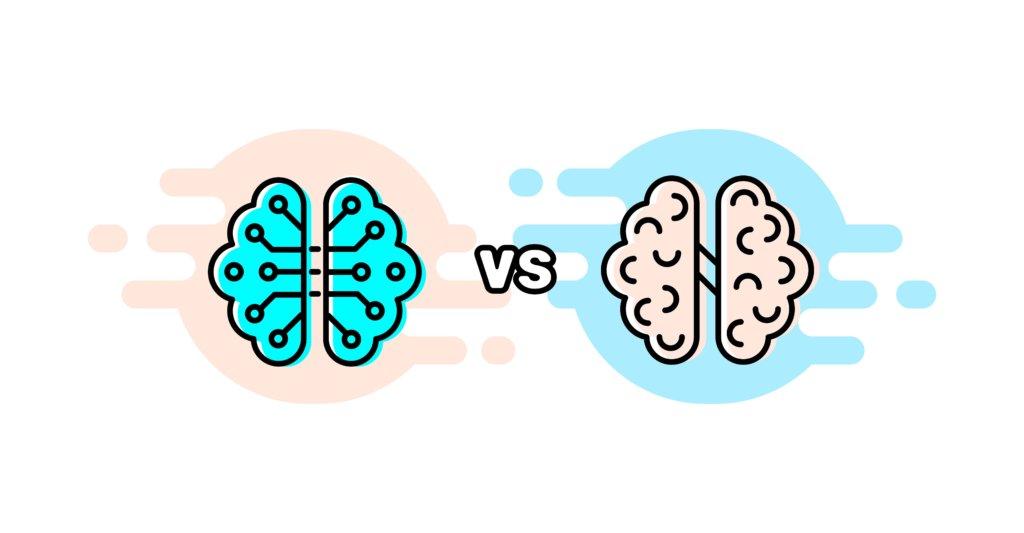 Artificial Intelligence versus human intelligence